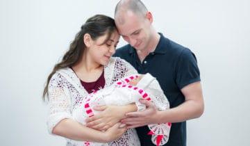 La sortie de maternité