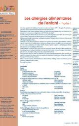 Cahier FMC n° 283 Les allergies alimentaires de l'enfant