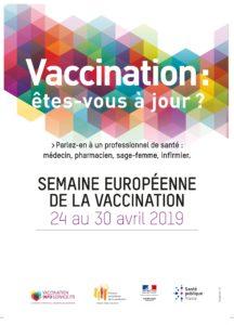 Vaccination Calendrier 2019.Semaine Europeenne De La Vaccination 2019 20 Au 26 Avril 2020